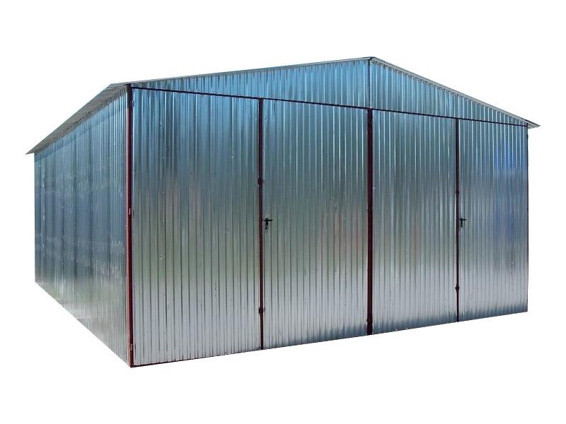 Standardowe Garaże Blaszane Blaszaki Garaż Blaszany 5m X 5m